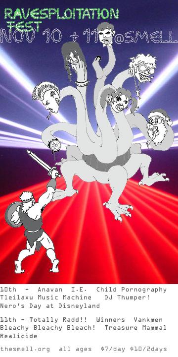 warrior versus multiheaded dragon time warp ravesploitation fest