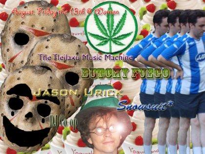 jason masks jim smith marijuana leaf yogurt berries brian leprechaun hat