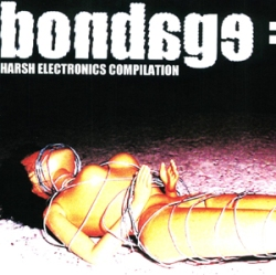 harsh electronics compilation person tied up bondage