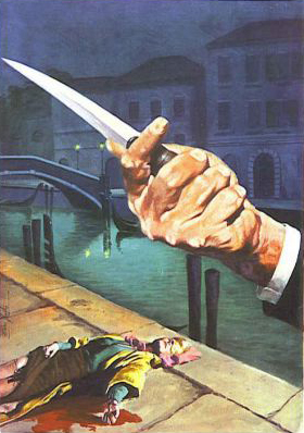 chi l'ha vista morire film poster hand knife dead bloody woman next to the canal